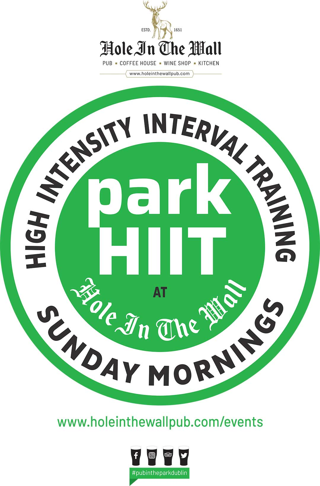 phoenix park free events HIIT training